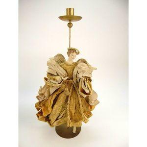 Other - Vintage Neapolitan Angel Paper Mache Candle Holder